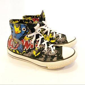 Converse DC Comics Batman Black hightops Boys 1